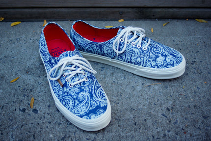 Vans Authentic CA Paisley - Limoges