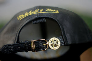 JUST DON 'Saints' Leather - Black / Gold