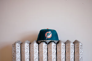 JUST DON Miami Dolphins - Teal / Natural