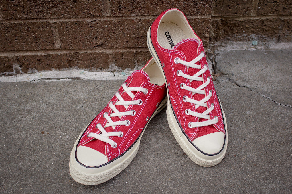 Converse Chuck Taylor All-Star Low 1970 - Crimson Red / White
