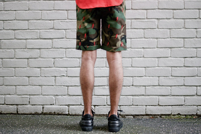 KITH White Label 2.0 Mercer Short - Camo