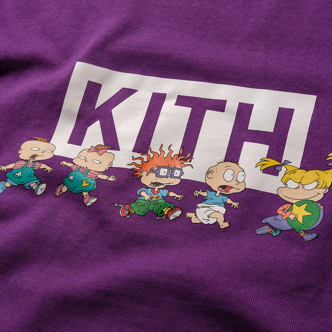 Kith x Rugrats Chase Tee - Purple