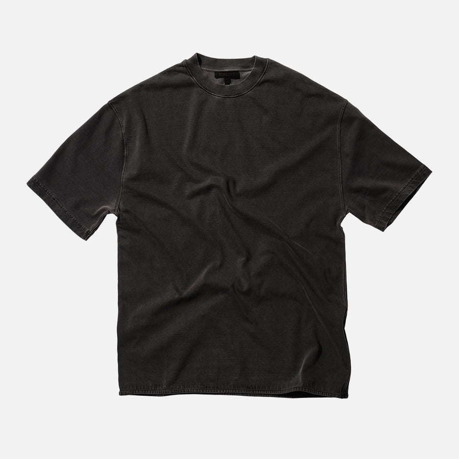 Yeezy Heavy Knit Tee - Onyx Dark