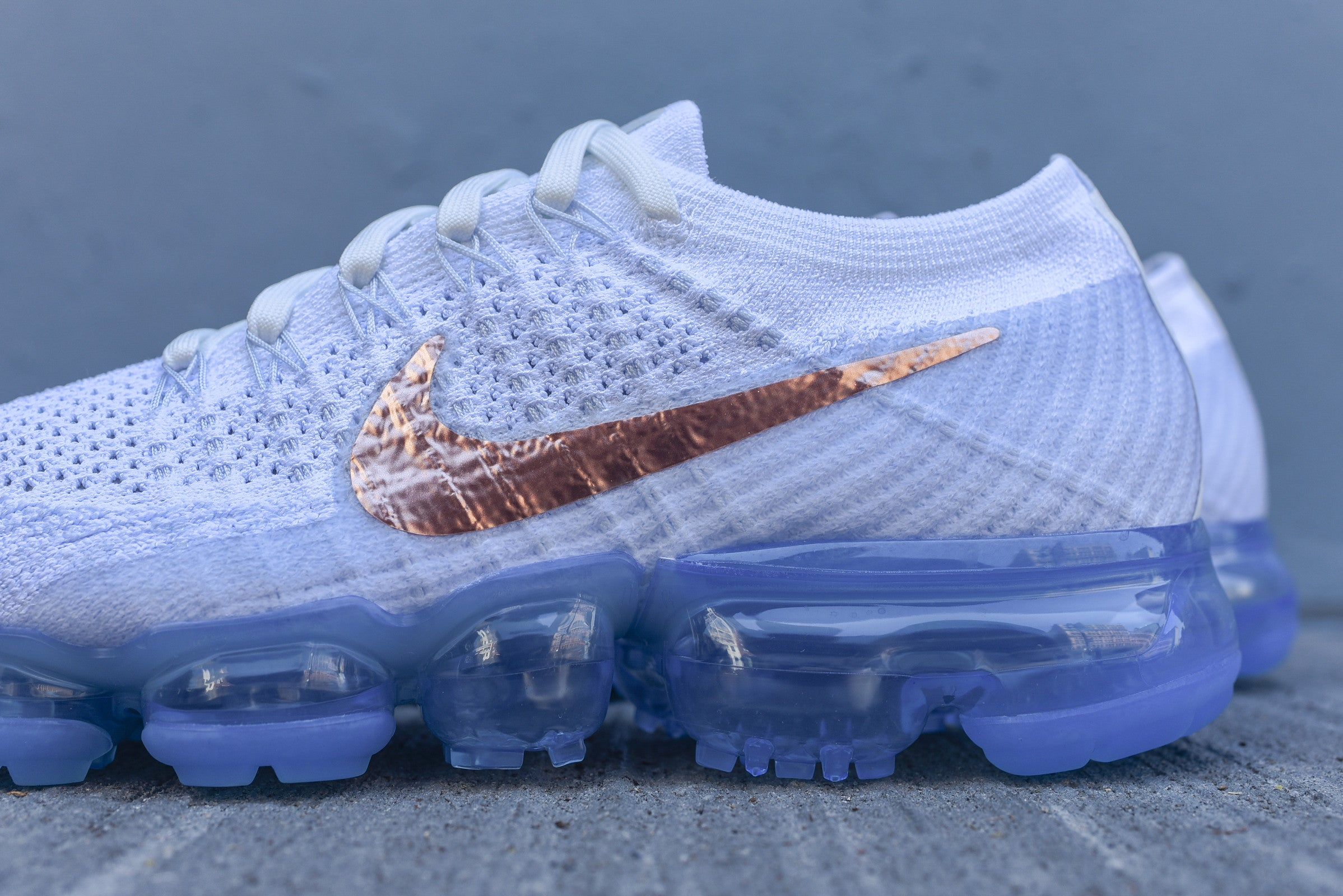 Nike WMNS Air VaporMax FK - White / Blue