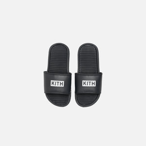 Kith Kids Slides - Black Image 2