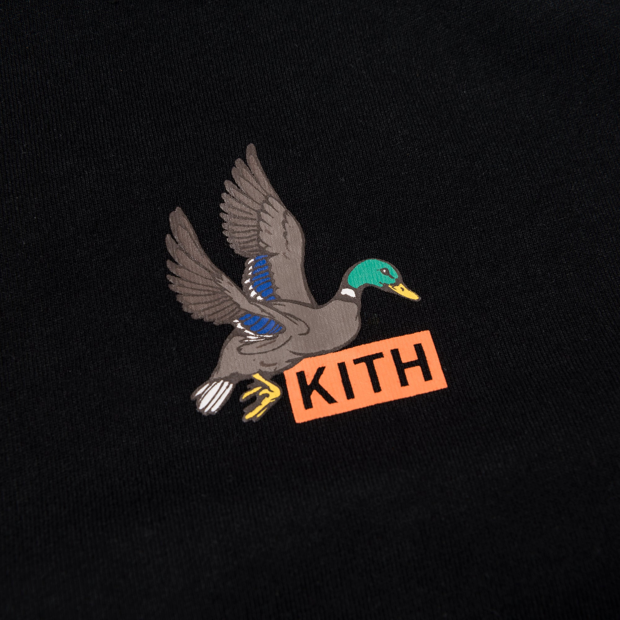 Kith Stop The Hunt Tee - Black