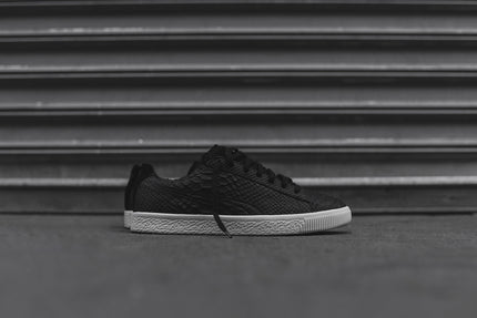 Puma Clyde Select Made In Italy Snakeskin - Black