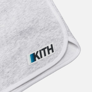 Kith Knit Jordan Sweatshort - Light Heather Grey