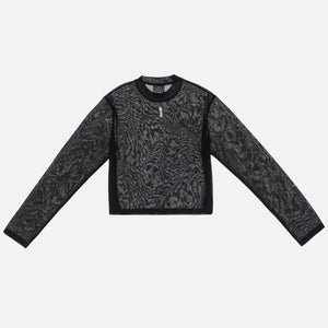 Kith Women Mica Sheer L/S - Black