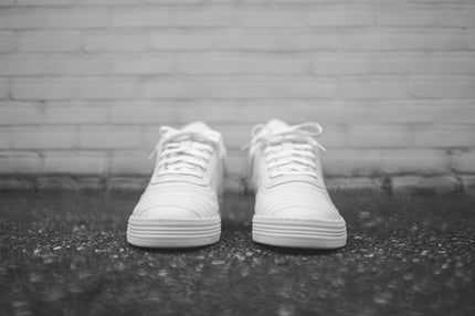 Filling Pieces Low Top Wavy - White