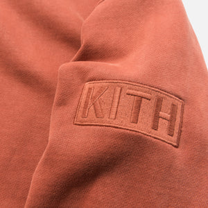 Kith Two-Tone Williams II Hoodie - Clay / Ivory