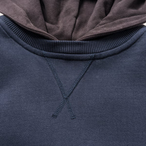 Kith Two-Tone Williams II Hoodie - Shark / Battleship Grey