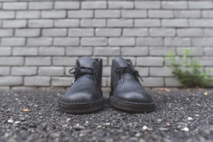 Clarks Desert Boot - Black Beeswax Leather Image 3