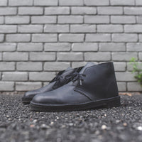 Clarks Desert Boot - Black Beeswax Leather Thumbnail 1