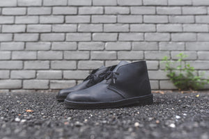 Clarks Desert Boot - Black Beeswax Leather Image 2