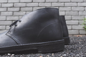 Clarks Desert Boot - Black Beeswax Leather Image 6