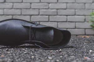 Clarks Desert Boot - Black Beeswax Leather Image 8