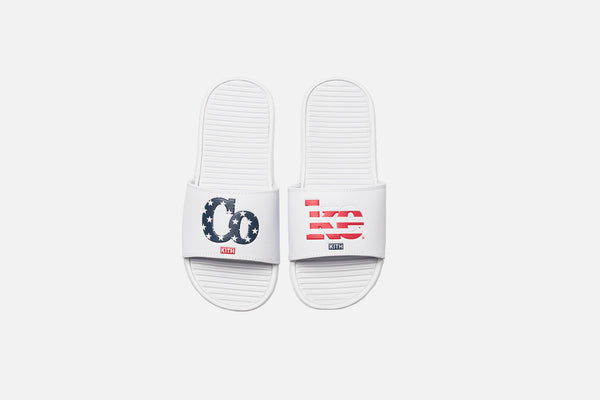 Kith x Coca-Cola Chancletas - White