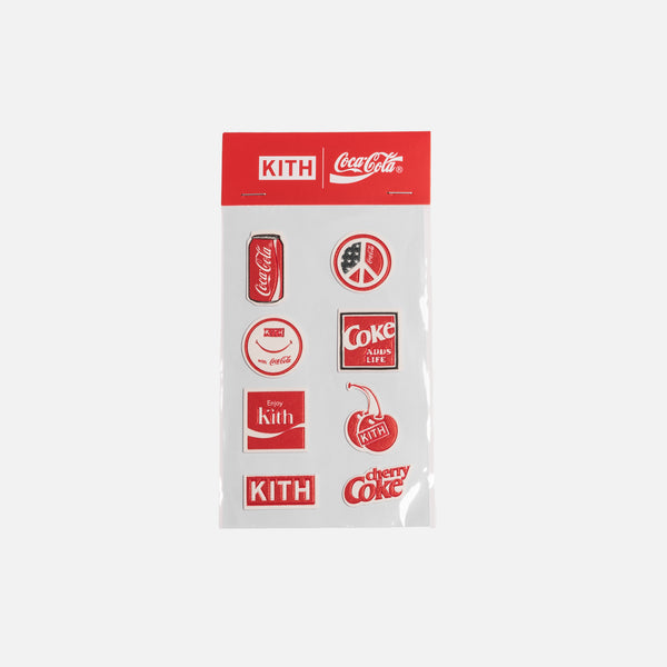 Kith x Coca-Cola Puff Sticker Pack