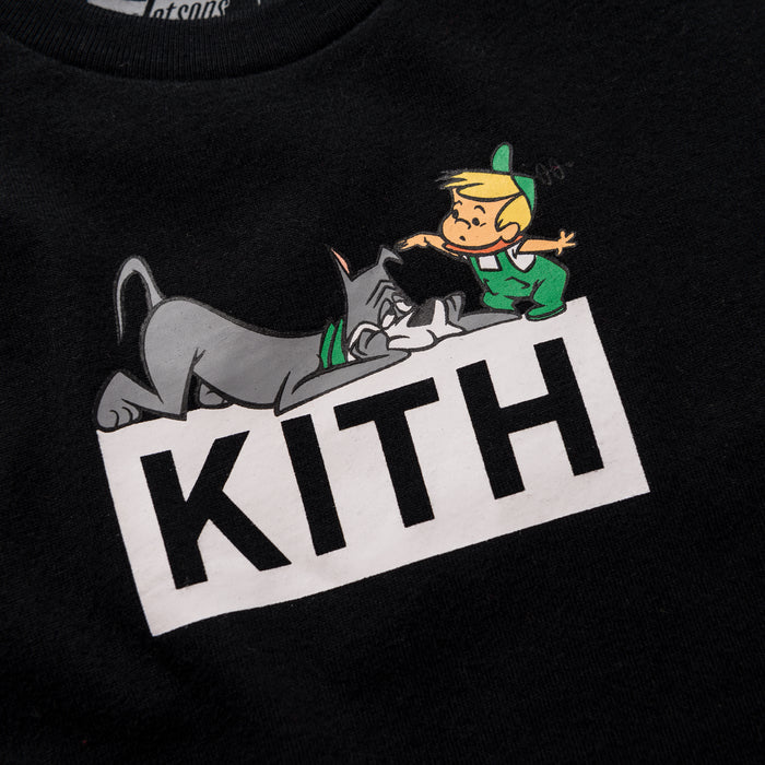 Kith Kids x Jetsons Elroy and Astro Tee - Black