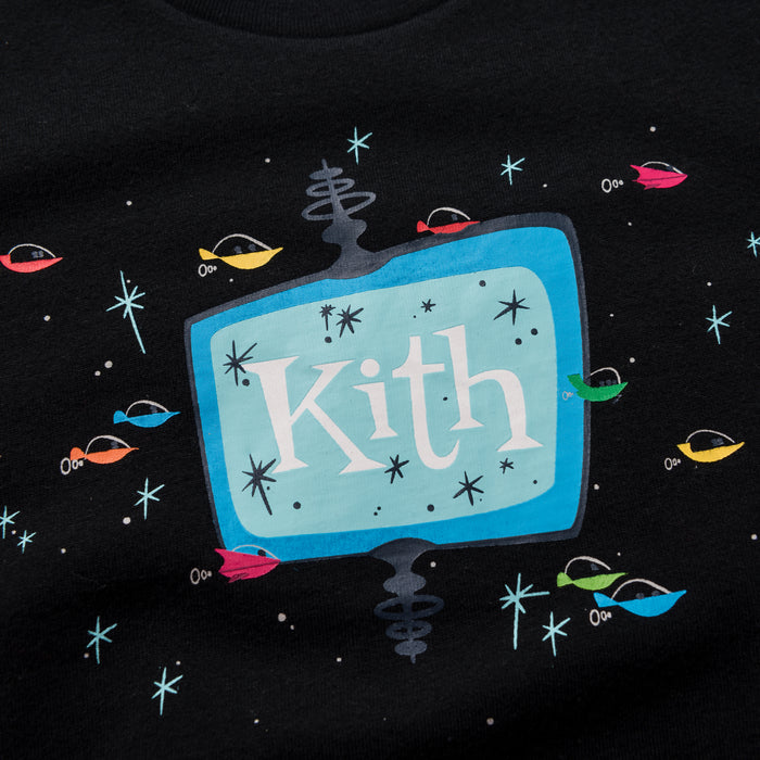 Kith Kids x Jetsons Drive In Tee - Black