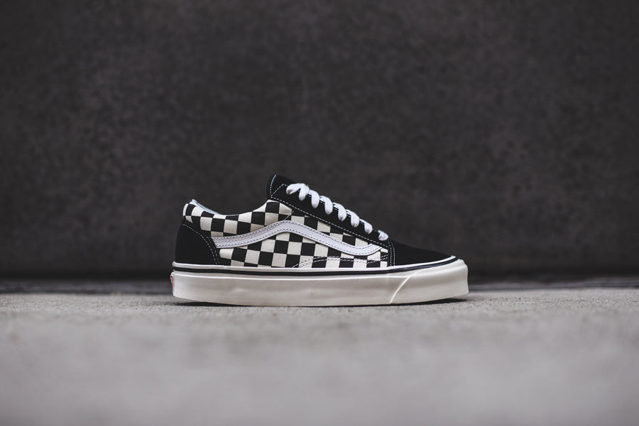 Vans Old Skool 36 DX - Black / Checkerboard