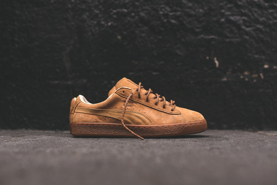 Puma Basket Classic Winterized - Wheat / Gum