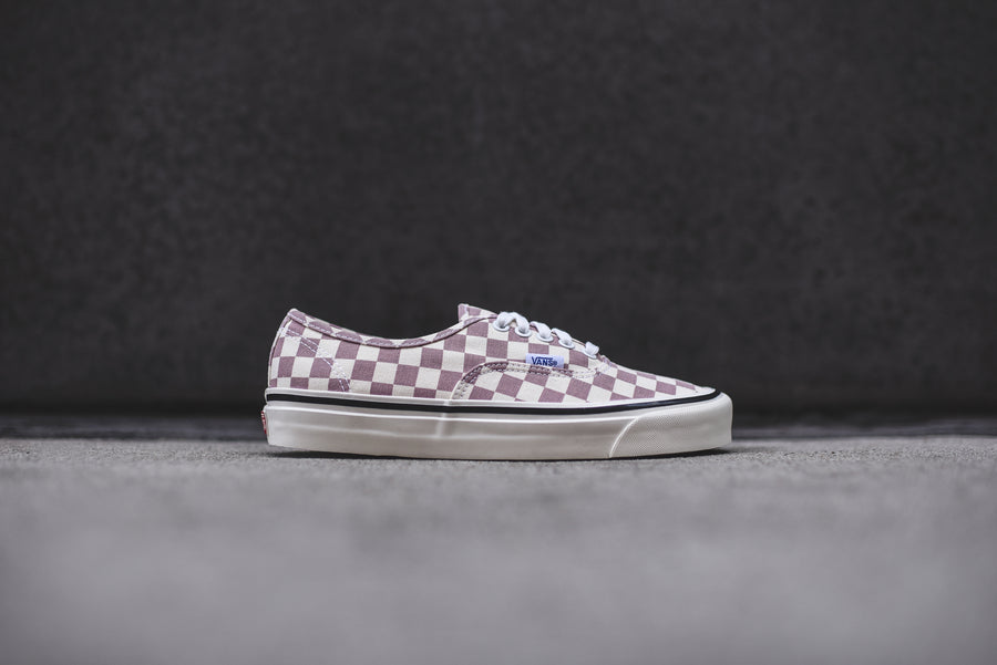 Vans Authentic 44 DX OG - Mauve / Checkerboard