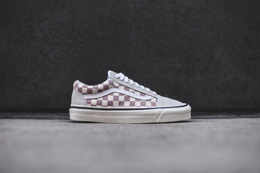 Vans Old Skool 36 DX OG - Mauve / Checkerboard