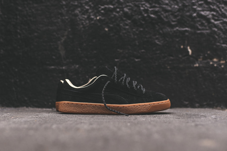 Puma Basket Classic Winterized - Black / Gum