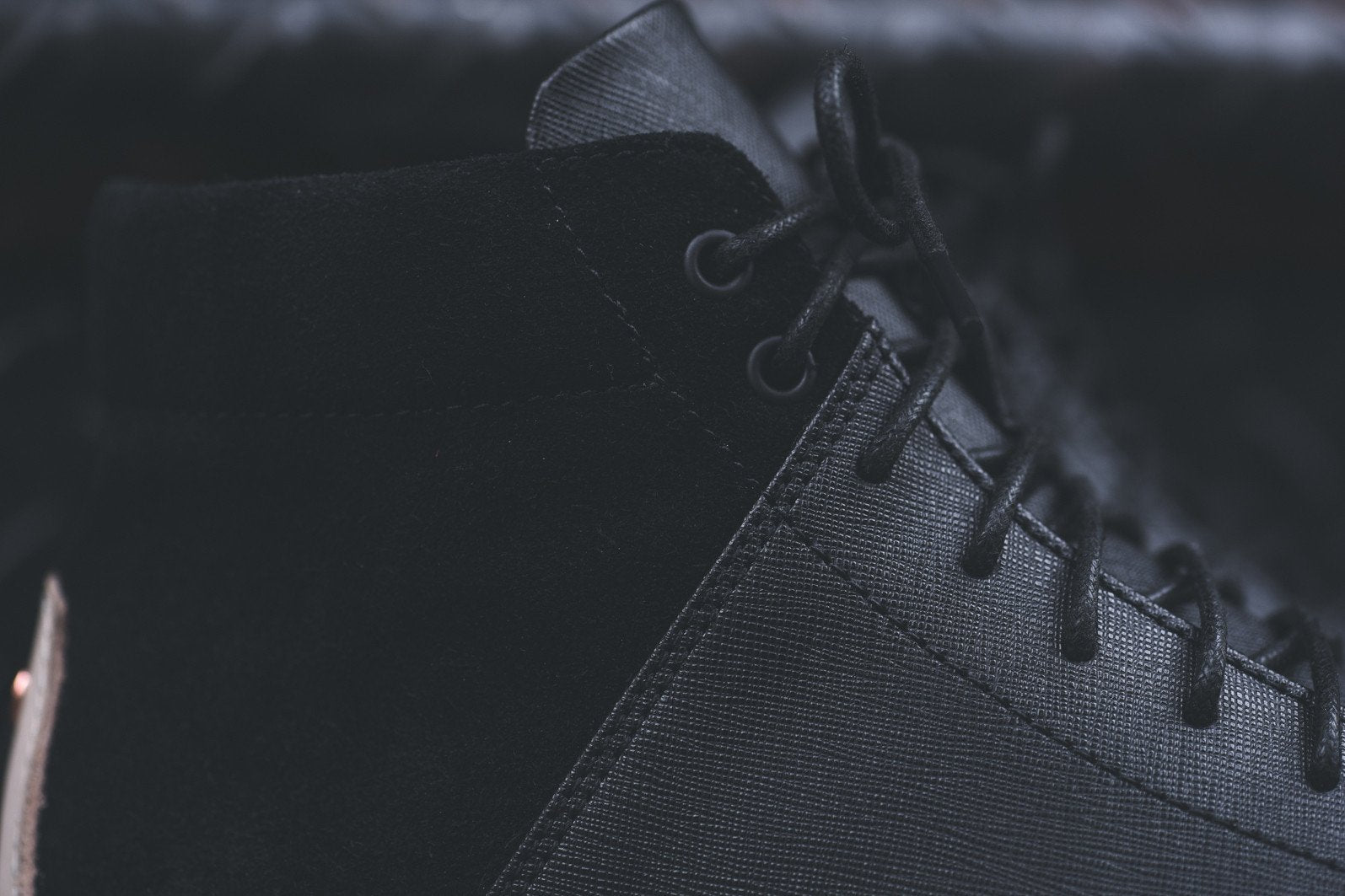 TCG Porter - Black Saffiano Leather