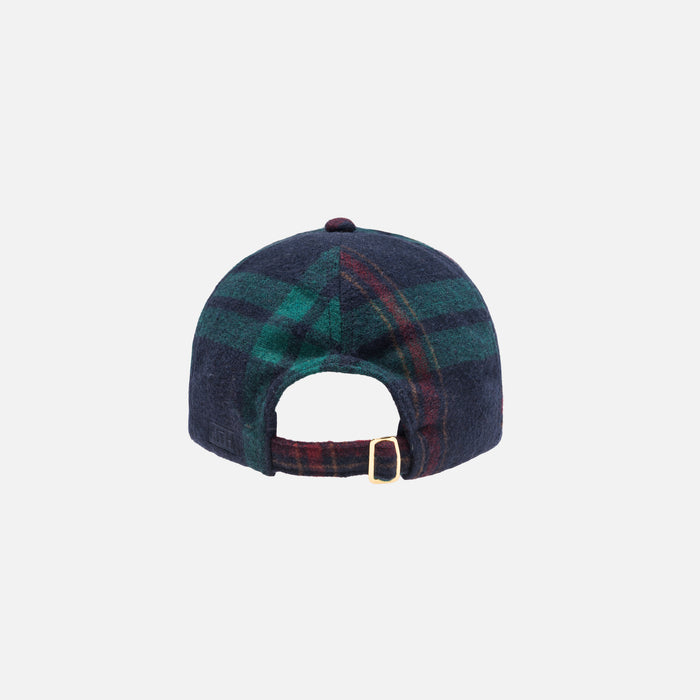 Kith Wreath Blackwatch Cap - Navy / Green