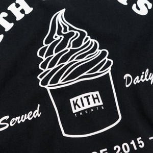 Kith Treats Ice Cream Day Tee - Black