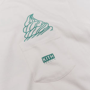 Kith Treats Ice Cream Day Tee - Miami Image 3