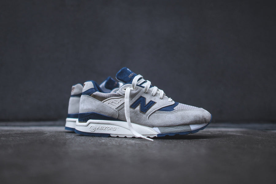 New Balance M998 - Grey / Navy