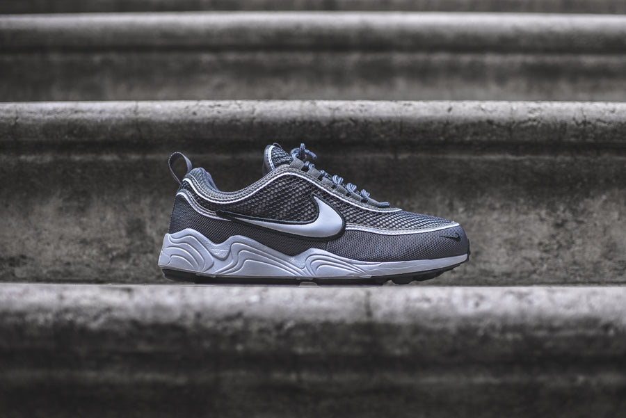 Nike Air Zoom Spiridon - Dark Grey / White