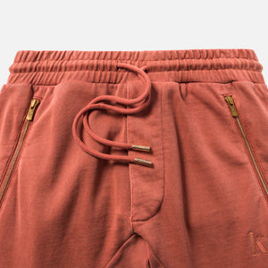 Kith Bleecker Sweatpants - Clay