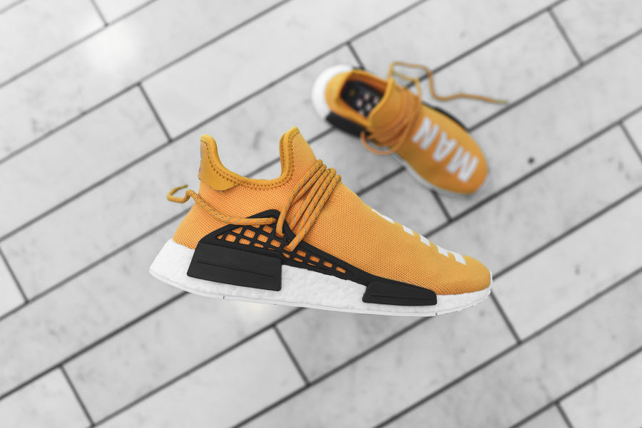 adidas Originals x Pharrell Williams HU Race NMD - Tangerine