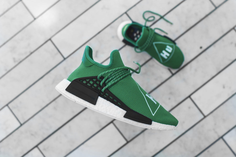 adidas Originals x Pharrell Williams HU Race NMD - Green