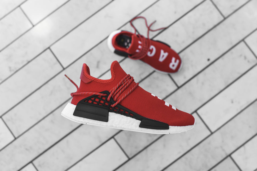 adidas Originals x Pharrell Williams HU Race NMD - Scarlet