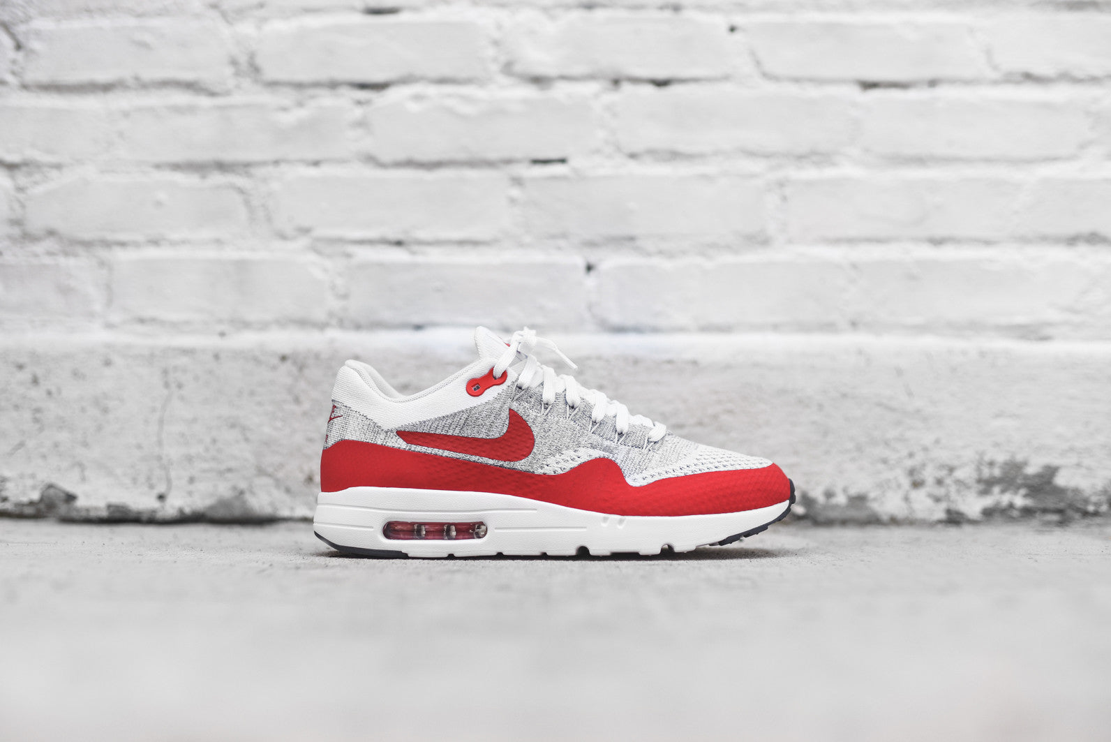 Nike WMNS Air Max 1 Flyknit - Red / White
