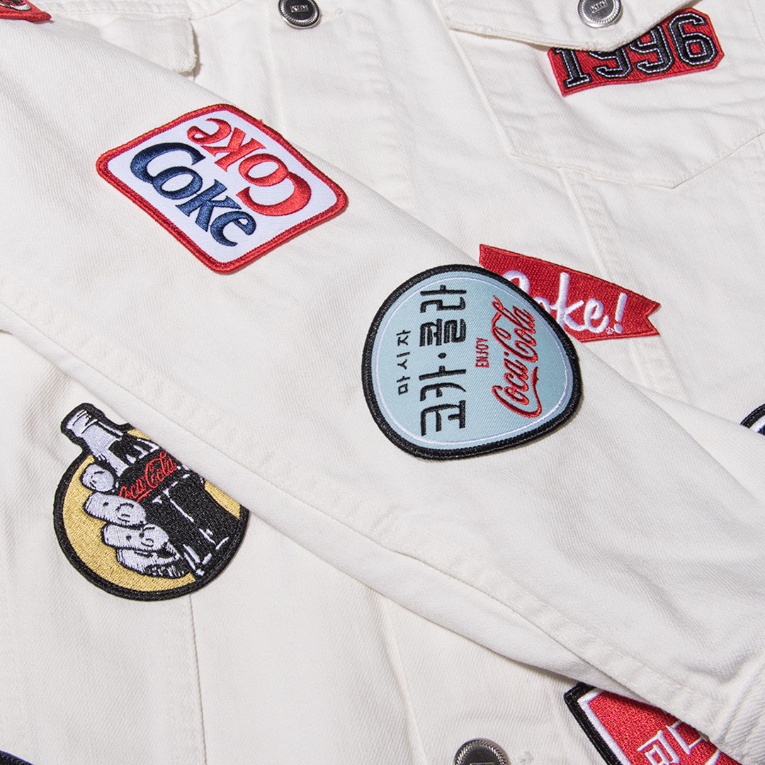 Kith x Coca-Cola Denim Jacket - White