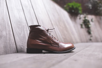 J.D. Fisk Pike Lace-Up Boot - Cognac