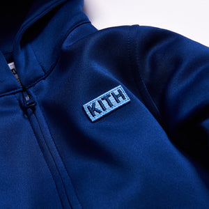 Kith Kids Baby Racer Coverall - Estate Blue