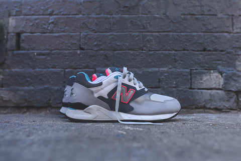 New Balance ML878 - Lead / Silver / Pink
