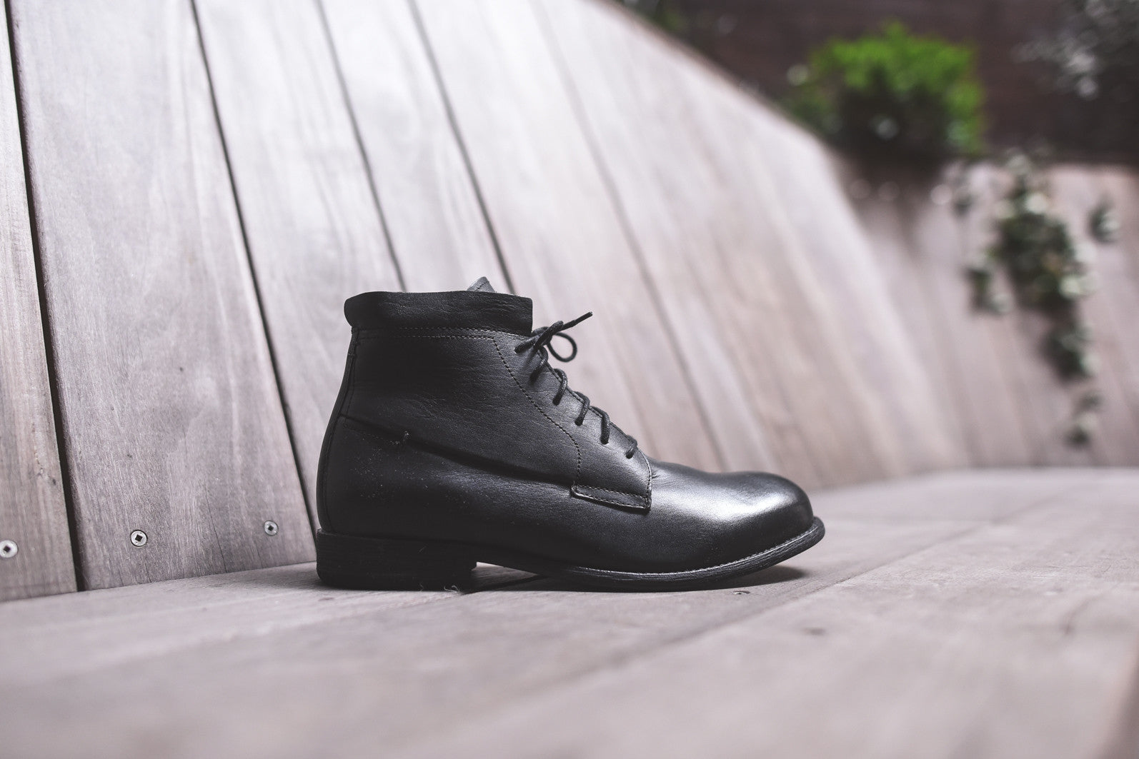 J.D. Fisk Pike Lace-Up Boot - Black