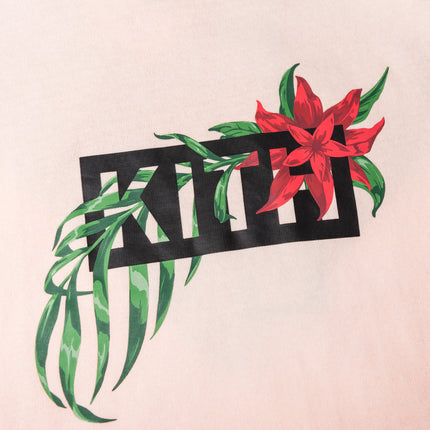 Kith In Bloom Classic Logo Tee - Pink