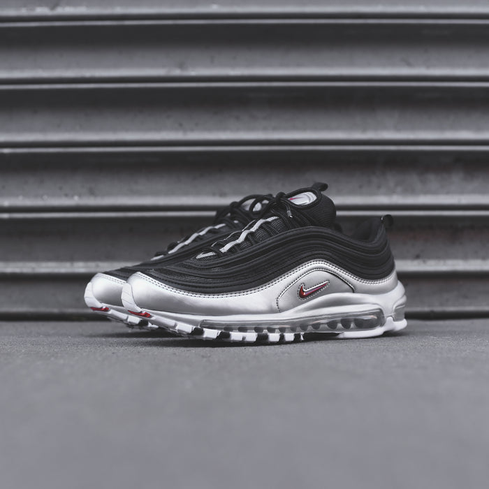 Nike Air Max 97 - Black / Varsity Red / Metallic Silver / White