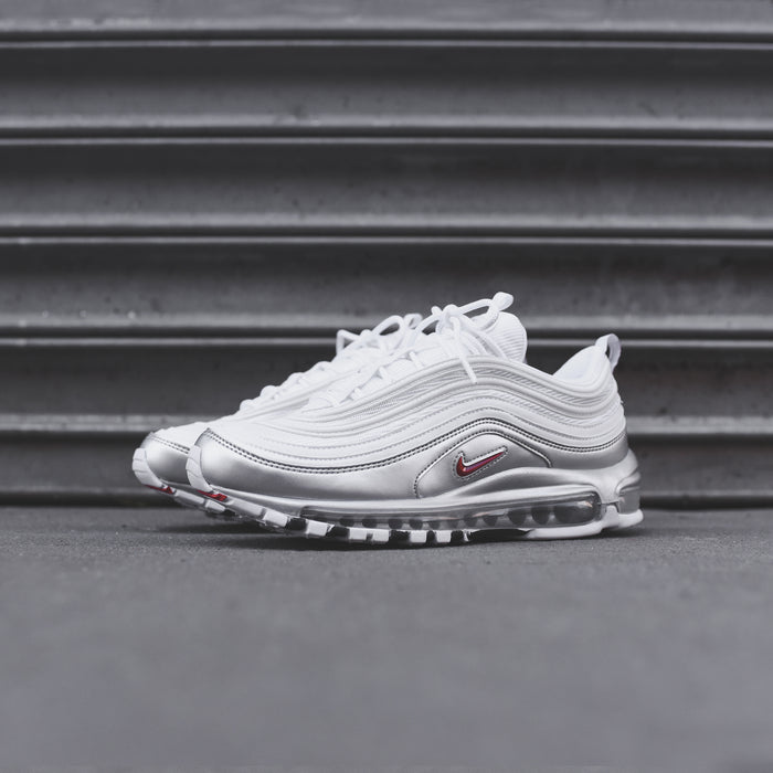 Nike Air Max 97 - White / Varsity Red / Metallic Silver / Black