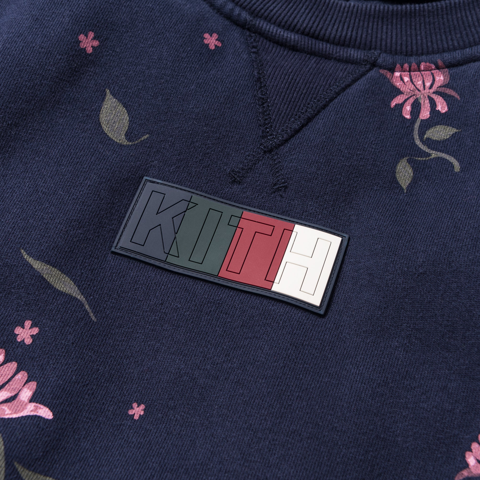 Kith Williams 2 Floral Hoodie - Navy